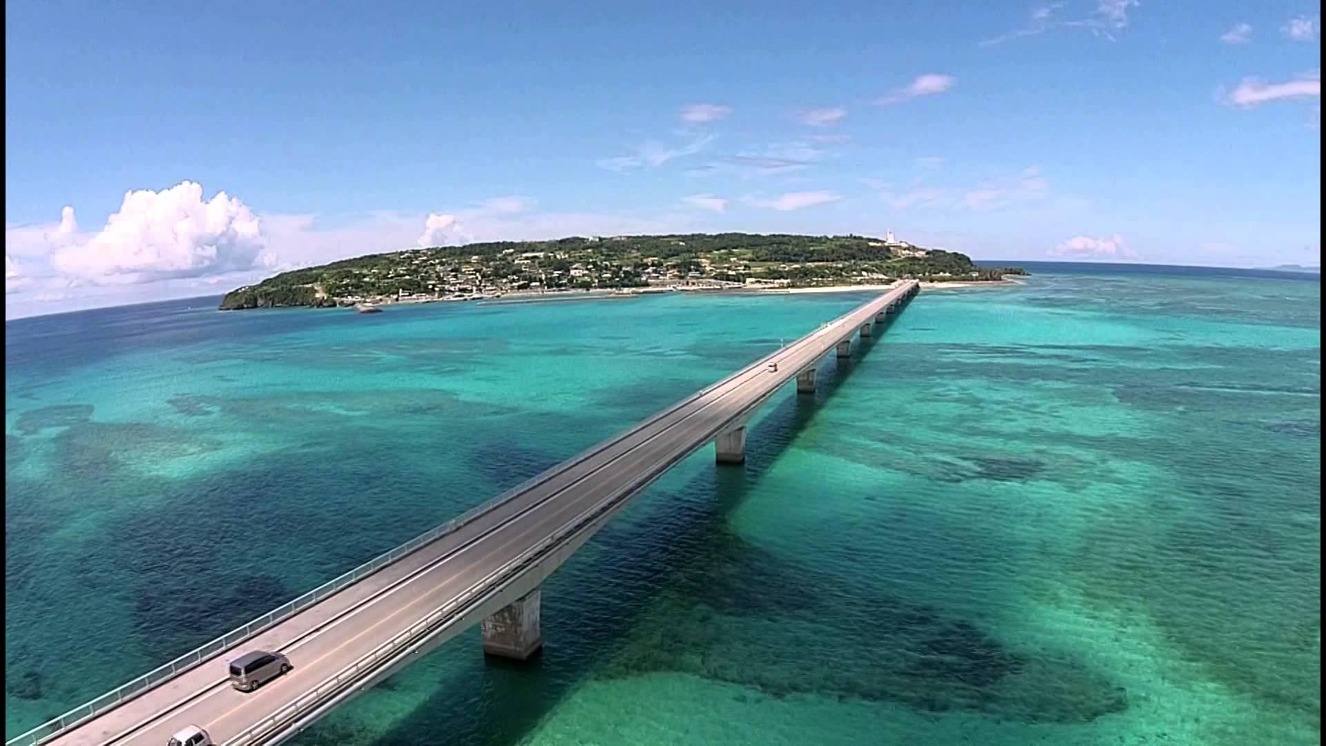 古宇利岛位于冲绳本岛的北部